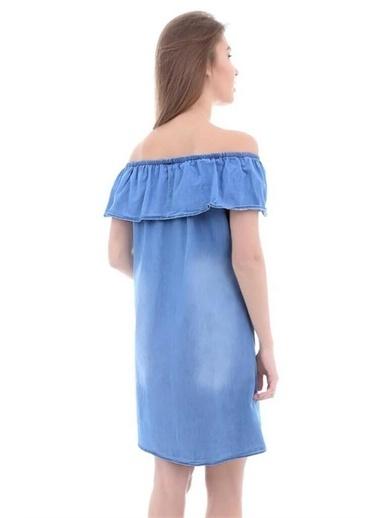 Şimal Elbise Mavi